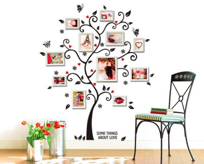 $6.95 • Buy Photo Tree Vinyl Home Room Decor Art Wall Decal Sticker Bedroom Removable Mural