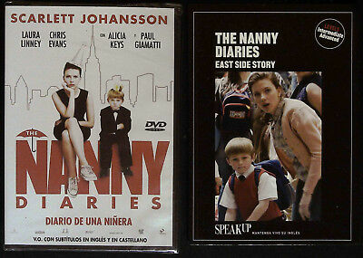 £19.95 • Buy NANNY DIARIES DVD+Book English Learning For SPANISH/CASTELLANO Speakers Intr-Adv