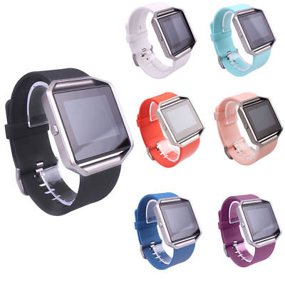 AU3.38 • Buy Replacement Silicone Sport Band Strap Wristband Bracelet For Fitbit Blaze Watch