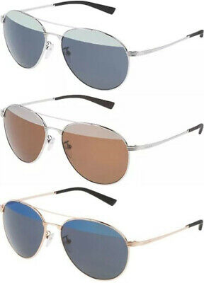 9c639693e43 Police Rival 2 Round Pilot Sunglasses W  Mirrored Lens S8953V - Made In  Italy •