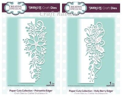 Creative Expressions - Paper Cuts Dies - Christmas Collection 2018 - Edger Dies • 7.65£