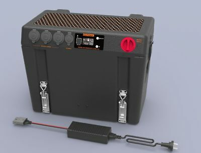 AU349 • Buy Antpak Dc20 Battery Box Dc/solar Charger And Ac Charger