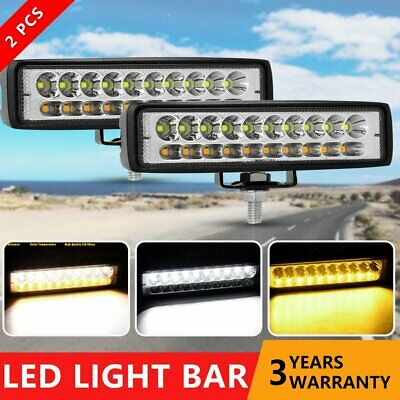 AU21.99 • Buy Pair 6 Inch 20 LED Work Light Flood Bar Car SUV OffRoad Truck Driving Fog Lamps