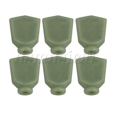 $ CDN8.64 • Buy Light Green Plastic L Guitar Machine Head Tuning Pegs Knobs Tuner Buttons 6 Pack