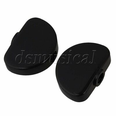 $ CDN9.50 • Buy Black Metal Alloy Universal Guitar Tuner Machine Head Buttons Semicircle 6 Packs
