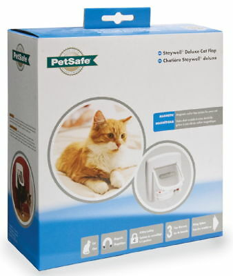 £34.57 • Buy Staywell Deluxe Magnetic Cat Flap White