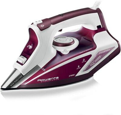 View Details Rowenta Steam Force Steam Iron DW9230 - White And Red • 107.50£
