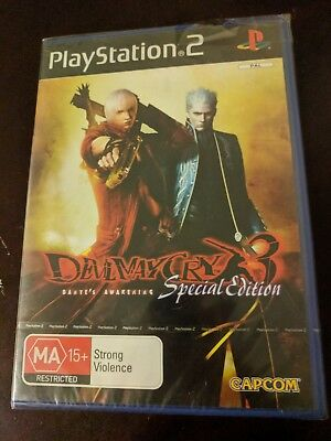 AU30 • Buy Devil May Cry 3 Dante's Awakening: Special Edition *AUS* *PS2* *New & Sealed*