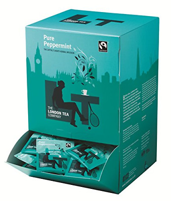 The London Tea Company Fairtrade Pure Peppermint Envelope Teabags Pack Of 250 • 30.02£