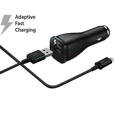 $ CDN13.31 • Buy Samsung Galaxy OEM Fast Adaptive Car Charger Rapid Charging With USB Adapter NEW