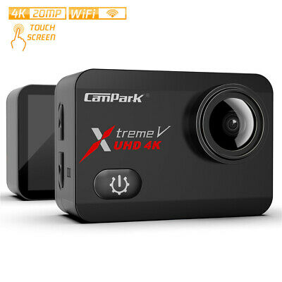 Action Camera 4K Campark WiFi Camcorder Waterproof DV Sports AS GoPro Underwater • 58.79£