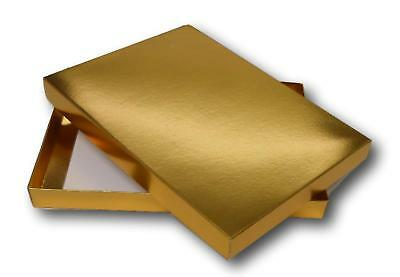 1 Gloss Gold A5 Gift Greeting Card Jewellery Box Dvds • 1.75£
