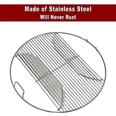 $ CDN67.55 • Buy 304 Stainless Steel Hinged Cooking Grate For 22.5 Inch Weber Charcoal Grills
