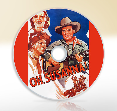 Oh, Susanna! (1936) DVD Classic Western Movie / Film Gene Autry Smiley Burnette • 2.65£