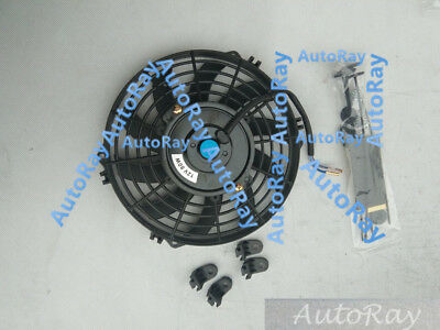 AU35 • Buy 9'' 12V 9 Inch 12 V Thermo Radiator Cooling Fan & Mounting Kits CURVED BLADE