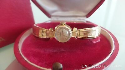 Vintage Omega Ladies Dress Watch In 18ct Gold • 1,200£