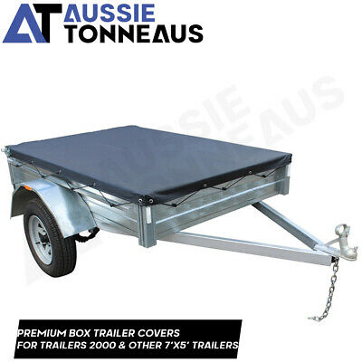 AU155 • Buy 7 X 5 Box Trailer Tonneau Cover - (Suits Trailers 2000 & Other 7'x5' Trailers)