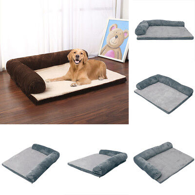 £15.95 • Buy Winter Warm Pet Bed Mattress Thick Mat Cushion For Large Breed Fits Cage Cave