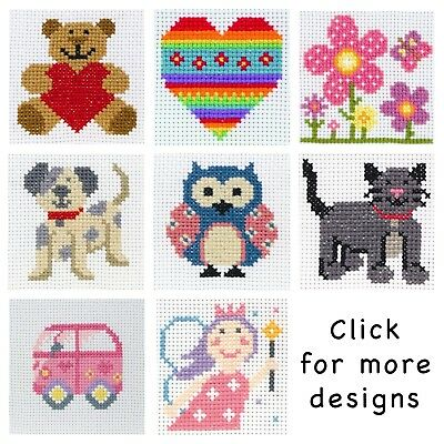 £7.50 • Buy Anchor ~ Counted Cross Stitch Kit ~ Perfect For Children / Beginners ~ First