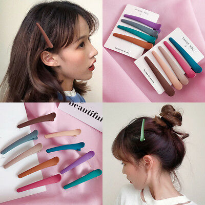 $0.76 • Buy Exquisite Solid Hair Clip Pin Stick Accessories Barrette Hairpin Women Girls New