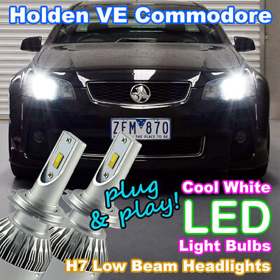 AU79.95 • Buy #H40 Holden/HSV VE Commodore Series I & II H7 LED Bulbs Upgrade Kit Cool White