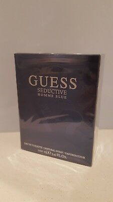 £20.05 • Buy Guess Seductive Homme Blue 100ml Edt Brand New Free P&p