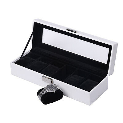 £14.49 • Buy Watches Display Storage Leather Watches Box Case Holders For Ladies  6/10 Grids