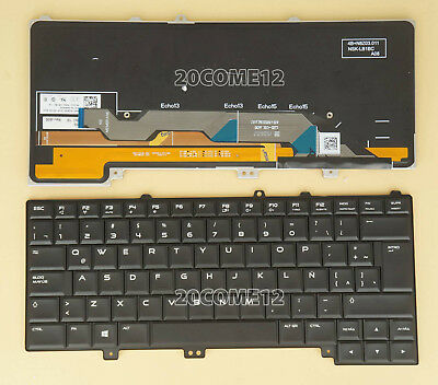 $ CDN61.15 • Buy New For DELL Alienware 15 R1 & 15 R2  Keyboard Backlit Latin Spanish Teclado