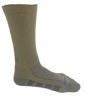 Bates Men's EPS Moisture Wicking 2 Pack Socks Coyote Brown Size Large • 7.83£
