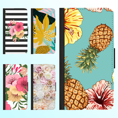 AU13.99 • Buy IPhone 12 Pro Max 11 XS XR 8 7 6 Leather Flip Wallet Case Cute Flower VI Cover