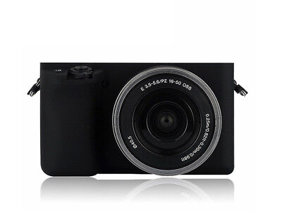 $ CDN38.89 • Buy Case Pouch Silicone For Sony A6000 Black Camera! Novelty