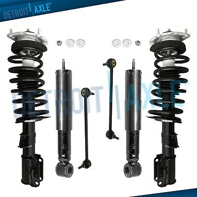 $212.61 • Buy 1998 1999 2000 Volvo V70 - 6pc Front Struts & Spring Sway Bars Rear Shocks 2WD