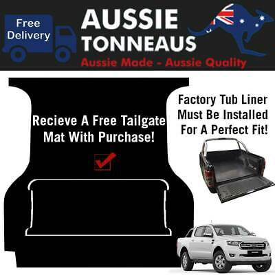 AU119.01 • Buy Rubber Ute Mat For Ford PX Ranger - 2011 - Current (with Factory Tub Liner)