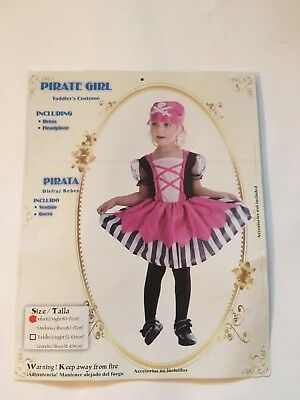 Pirate Girl, Childrens Fancy Dress, For Infants • 7£