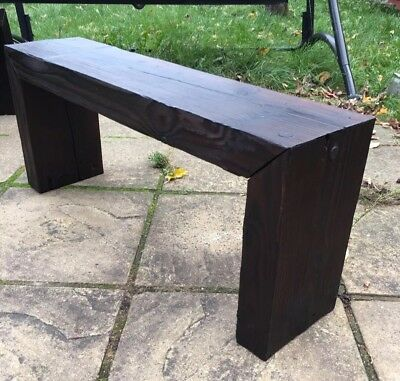 Wooden Bench Seat • 40£
