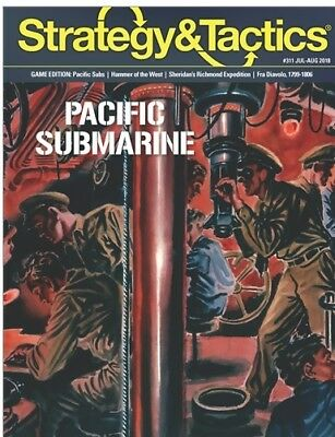 Strategy And Tactics 311 Pacific Subs Unpunched • 24.99$