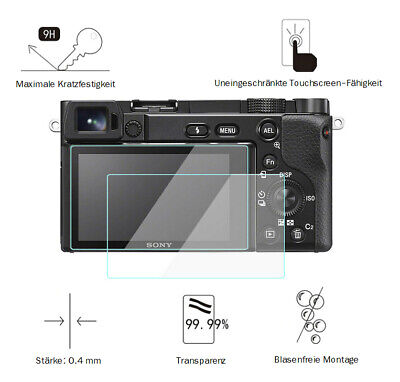 $ CDN15.41 • Buy Sony A6300 0,4 MM Adhesion Screen Protector Glass Protective Film LC7663