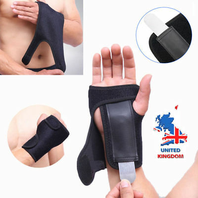 Magnetic Wrist Support Splint For Pain Relief Carpal Tunnel Hand Brace RSI Injur • 4.90£