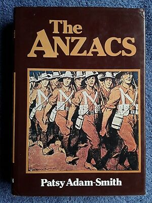 AU15 • Buy THE ANZACS By Patsy Adam-Smith <Hardcover, 1978, 1st Edition>
