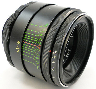 $ CDN93.09 • Buy ⭐SERVICED⭐ HELIOS 44-2 58mm F/2 USSR Lens M42 + Adapt. Fuji Fujifilm X-Mount FX
