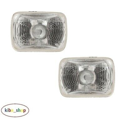For Jeep Wrangler Yj 1986 - 1996 2x New Front Headlamps Pair Left + Right Lhd  • 31.89£