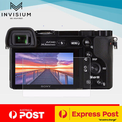 AU7.95 • Buy INVISIUM Tempered Glass Screen Protector Sony A A6600 A6500 A6300 A6000 NEX 7 6