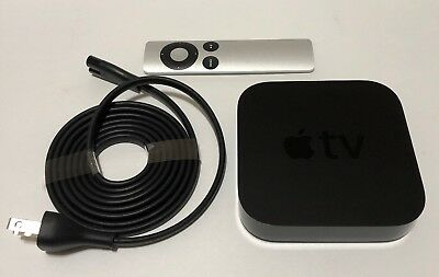 AU98 • Buy Apple TV (3rd Generation) Smart Media Streaming Player With Original Remote.