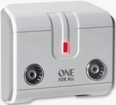 £26.65 • Buy ONE FOR ALL - Signal Booster Tv 2-Way Ofa