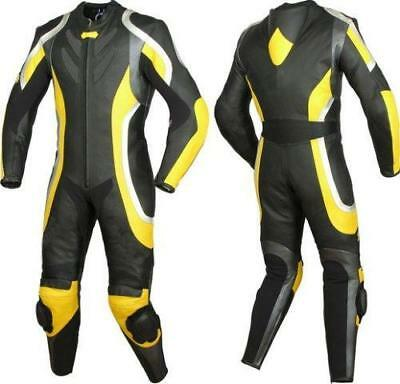 $229.99 • Buy Mens XPRO Motorcycle Leather Suit Motorbike Racing Leather Biker 1PC Suit Armors
