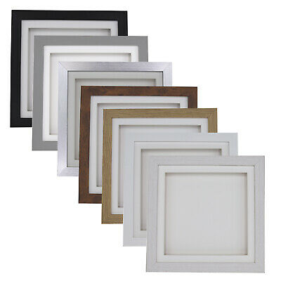 3D 0.5 Inch Deep Box Picture Frame Display Memory Box For Medals Scrabble Black • 11.50£
