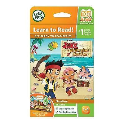 £4.49 • Buy LeapFrog LeapReader Tag Junior Counting & Number Book Disney Never Land Pirates