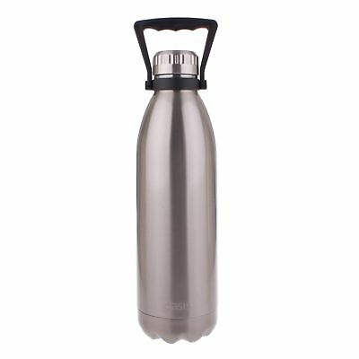 AU40.05 • Buy OASIS DRINK BOTTLE HANDLE 1.5 LITRE Double Wall Insulated Hot Cold SILVER
