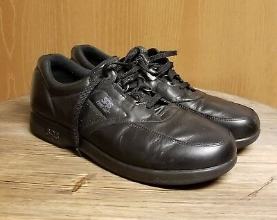 7bf796b0b8 Men's SAS Time Out Black Leather Lace Up Tripad Comfort Walking Shoes Size  14 S •
