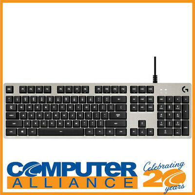 AU159 • Buy Logitech G413 Mechanical Backlit Gaming Keyboard Silver 920-008477